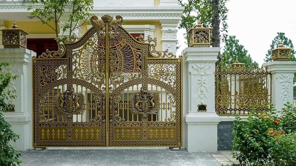 Tìm hiểu về cổng nhôm đúc